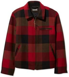 L.L. Bean L.L.Bean Signature Wool Bomber Jacket, Check