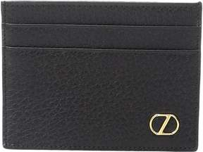 Z Zegna Grained Calfskin Card Case Credit card Wallet