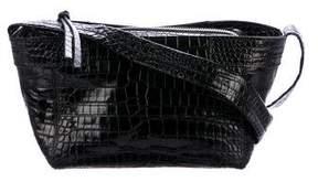 Elizabeth and James Embossed Leather Crossbody Bag
