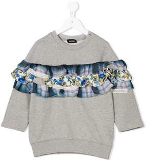 Diesel ruffled sweatshirt
