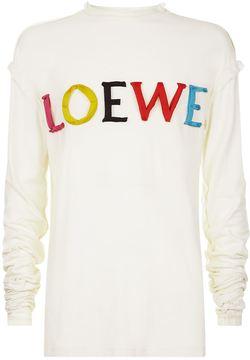 Loewe Oversized Logo T-Shirt