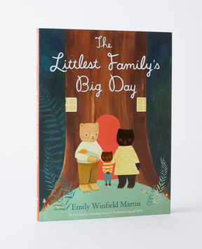 Hanna Andersson The Littlest Family's Big Day - Hardcover book