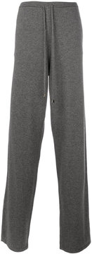 Loro Piana relaxed knit trousers