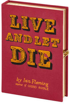Olympia Le-Tan Live and Let Die Book Clutch Bag
