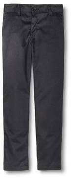 Dickies Boys' Slim Fit Flat Front Pants