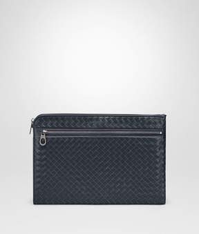 Bottega Veneta Light Tourmaline Intrecciato Small Document Case