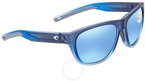 Costa del Mar Bayside Medium Blue Mirror Sunglasses BAY 193 OBMGLP