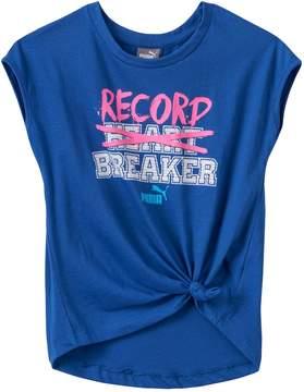 Puma Girls 4-6x Record Breaker Tee