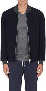 Brunello Cucinelli Men's Reversible Wool-Blend Bomber Jacket