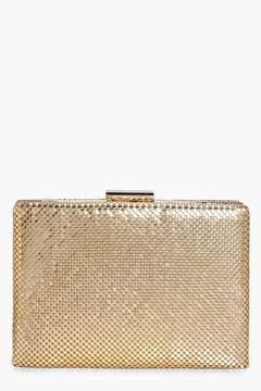 boohoo Chainmail Box Clutch Bag
