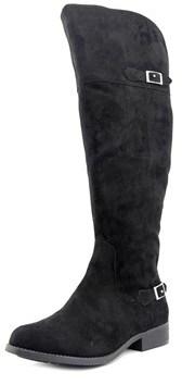 American Rag Aada Wide Calf Round Toe Canvas Knee High Boot.
