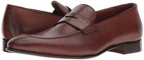 Matteo Massimo Perf Mocc Penny Men's Slip on Shoes