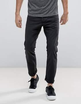 Esprit 5 Pocket Casual Pants in Black