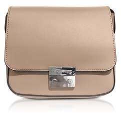 Emporio Armani Women's Pink Leather Shoulder Bag.