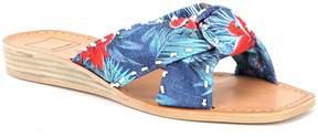Dolce Vita Haviva Floral Knot Slide Sandals