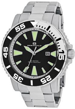 Oceanaut Marletta OC2911 Men's Round Silver Stainless Steel Watch