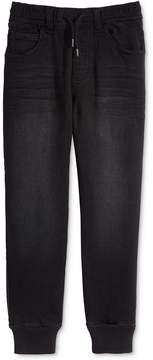 Epic Threads Knit Denim Jogger Pants, Little Boys, Created for Macy's
