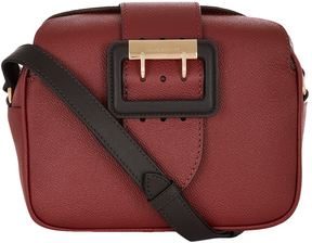 Burberry Buckle Cross Body Bag - RED - STYLE