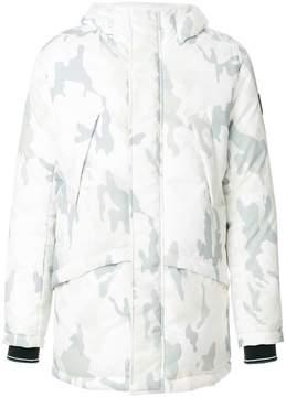 Rossignol camouflage print hooded jacket
