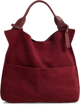 Sole Society Jamari Suede & Faux Leather Tote