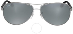 Ray-Ban Polarized Silver Mirror Sunglasses