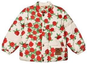 Mini Rodini Rose Print Puffer Jacket