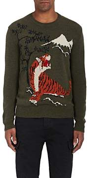 Ralph Lauren Purple Label Men's Intarsia-Knit Cashmere-Wool Sweater