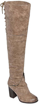 Two Lips 2 Lips Too Logan Womens Over the Knee Boots Wide