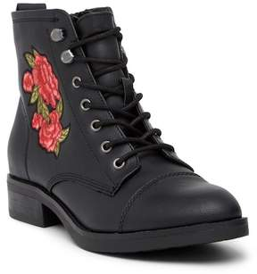 Madden-Girl Fuze Embroidered Lace Boot