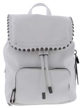 Jessica Simpson Womens Camile Faux Leather Studded Trim Backpack