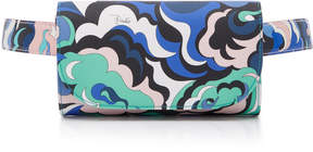 Emilio Pucci Printed Leather Belt Bag