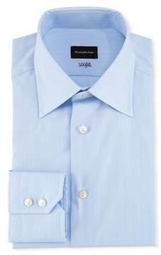 Ermenegildo Zegna 100Fili Tonal Box Dress Shirt