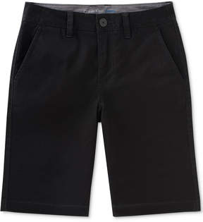Calvin Klein Motion Stretch Flat-Front Shorts, Big Boys (8-20)