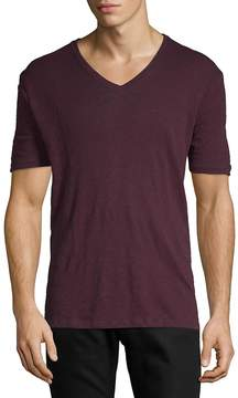 ATM Anthony Thomas Melillo Men's V-Neck Military T-Shirt