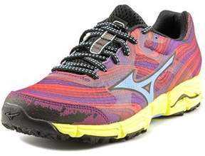 Mizuno Wave Kazan Round Toe Synthetic Running Shoe.