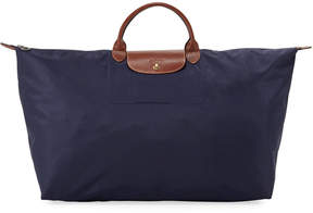 Longchamp Le Pliage Extra-Large Duffel Travel Tote Bag - NAVY - STYLE