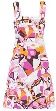 Emilio Pucci Printed cotton jacquard dress