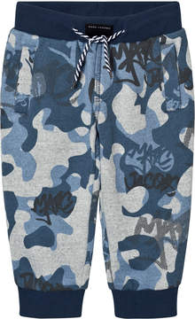 Little Marc Jacobs Blue and Grey Branded Camo Sweat Pants