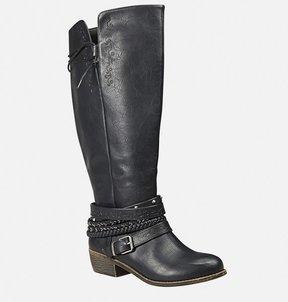 Avenue Gem Tall Stud Strap Boot