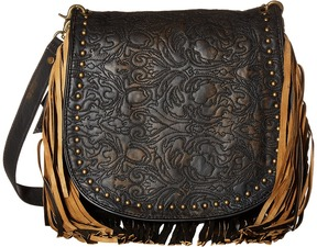 Scully Sophia Fringe Handbag Handbags