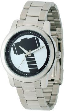 Marvel Mens Silver Tone Bracelet Watch-W001781