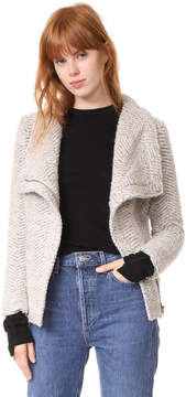 Cupcakes And Cashmere Dallas Asymmetrical Zip Jacket