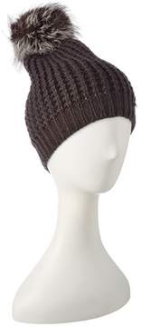 Jocelyn Dark Grey Knit Hat.
