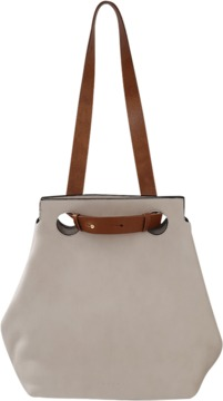 MARNI Leather Shopping Bag