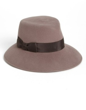 Eric Javits Women's 'Kim' Wool Fedora - Brown
