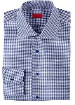 Isaia Men's Gingham Shirt