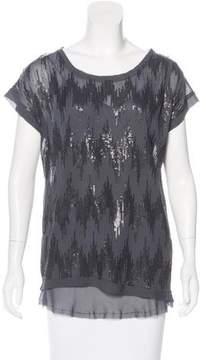 Brochu Walker Silk Embellished Top