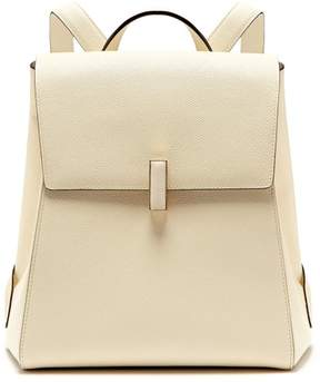 Valextra Iside Saffiano Leather Backpack - Womens - White