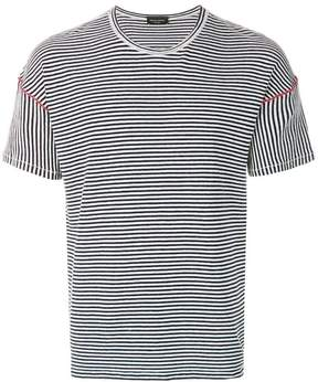 Roberto Collina striped fitted T-shirt