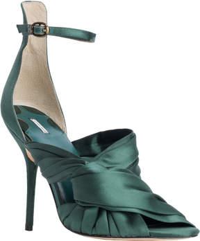 Max Studio gia : wrapped satin high heels